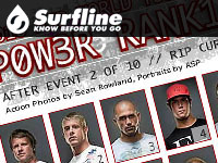 Surfline Power Rankings